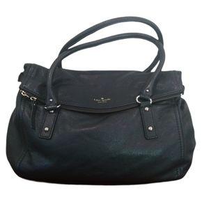 Kate Spade Leslie Cobble Hill Black Leather Bag